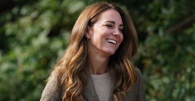 Így még nem láttad: Falatnyi miniszoknyában villantott Katalin hercegné - Fotó