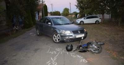 A motoros húzta a rövidebbet Gádoroson