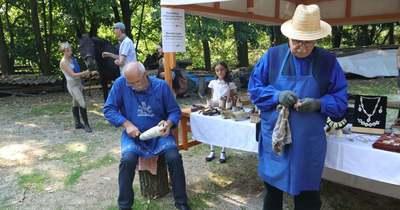 Pásztorhagyományok napja Gébárton – Múltidéző mesterségbemutatókat tartottak