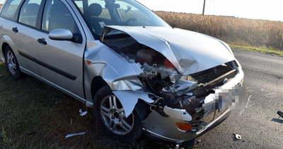 Kicsi volt a követési távolság, a sofőr nem tudta elkerülni az ütközést