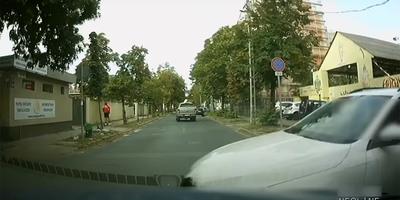 A vétkes kameráján is látható a brutális budapesti karambol, egy meglepő részlet is kiderült - videó