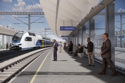 Fantasztikus látványtervek az új Közlekedési Múzeum vasúti megállójáról