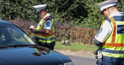 Több mint hatvan sofőr akadt fenn a fokozott ellenőrzésen