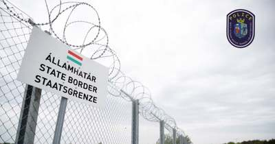 Létrán másztak át a migránsok a hazánkat és Szerbiát elválasztó kerítésen