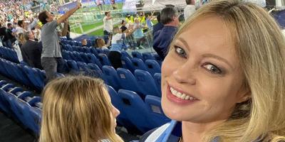 Meztelenre vetkőzve ünnepelte a Lazio sikerét a szexi olasz modell - fotó
