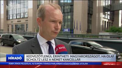 Kedvezőtlenül érintheti Magyarországot, ha Olaf Scholz lesz a német kancellár