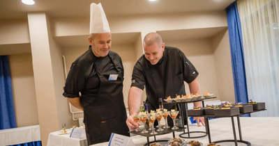 Finger-food finomságok készültek a zalaegerszegi szakács mestervizsga első napján