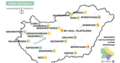 Emelkedést mutat a szennyvíz koronavírus-koncentrációja Békéscsabán