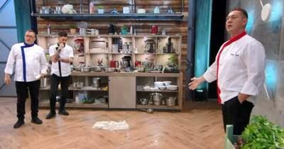 Balesetveszély a konyhában! Azonnal leállították a Séfek séfe versenyzőit – Videó!