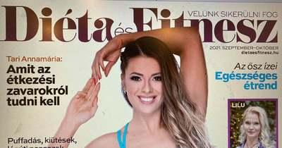 Megjelent a Diéta és Fitnesz legújabb száma, a címlapon Besenyei Boglárkával!