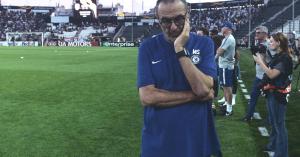 El: Sarri aggódik, problémát okozhat a Chelsea-nek a sorozat