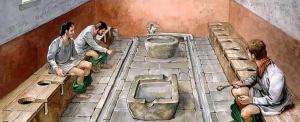Vizeletből készült a római szájvíz