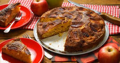 Mennyei őszi desszert: almáspite torta