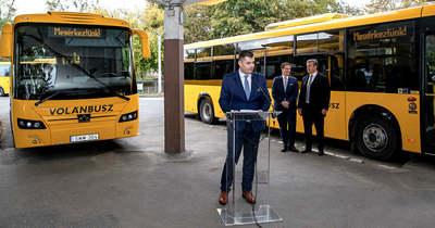 Új szóló autóbuszok állnak forgalomba Tolna megyében