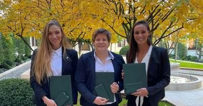 Női vízilabdázóink rangos állami kitüntetést kaptak
