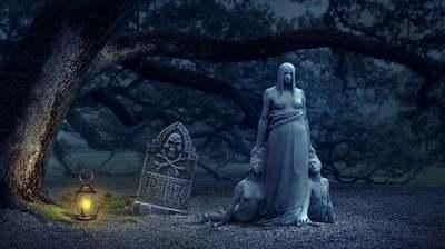 Három sírkövet tett a háza elé, az egész utca háborog