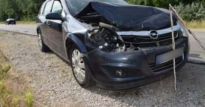 Ráfutásos balesetet okozott egy 78 éves sofőr Székesfehérvárnál