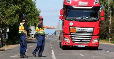 Istvándiban kapták el a jogsi nélkül szállító kamionost