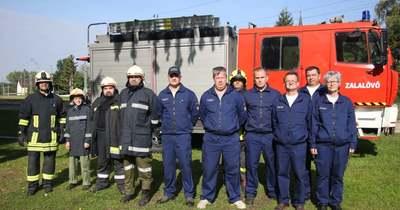 Sokszor vonulnak a körmendi tűzoltókkal a zalalövőiek – fotók
