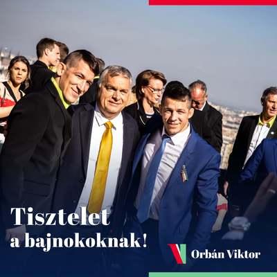Orbán Viktor: Tisztelet a bajnokoknak! - képek