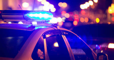 Keresztben állt meg egy autó az 541-es úton, Kecskemétnél