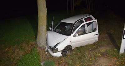 Árokba hajtott, majd fának ütközött egy sofőr Mezőhegyesen