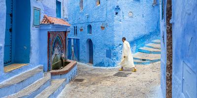 Ismerd meg képeken keresztül a világ egyik leglenyűgözőbb faluját, Chefchaouent: lélegzetelállító!