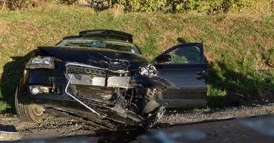 Két autó ütközött össze Hévíznél