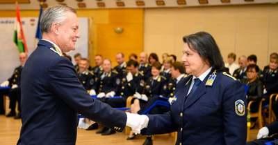 Miniszteri elismerést kapott a Szekszárdi Rendőrkapitányság munkatársa