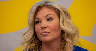Liptai Claudia zokogásban tört ki, megríkatta a lánya
