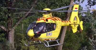 Frontális karambol történt Keszthely és Alsópáhok között – mentőhelikopter is érkezett a helyszínre