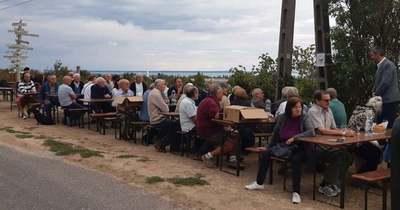 Megünnepelték az olaszrizling tanösvényt a Balatonnál