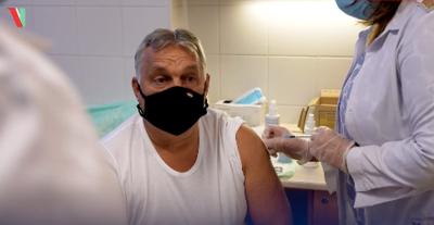 Ilyen harmadik oltást kapott Orbán Viktor