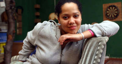 Betegen is gyerekeknek segített Kandeh Evelyne