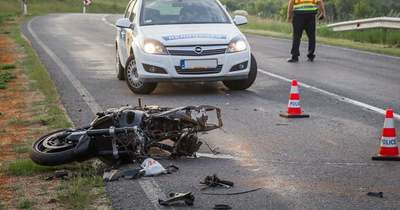 Meghalt egy motoros Nemeskeresztúr és Jánosháza között