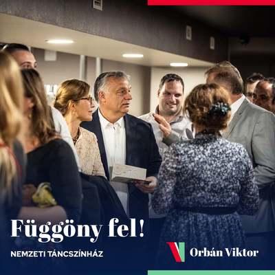 Oltás után irány a színház! - Itt tölti az estéjét Orbán Viktor