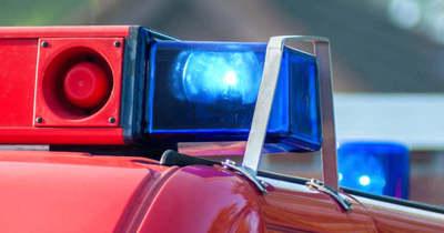 Árokba hajtott egy lószállítót vontató autó a 451-es főúton