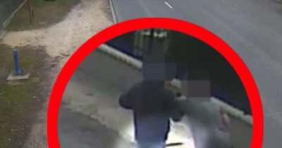 Járókelő fékezte meg a baltás garázdát a szomszéd megyében – videón a két férfi küzdelme