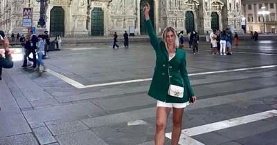 A divat olasz fővárosában járt a nagykanizsai Plichta Adrienn