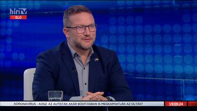 Ujhelyi István: Rajtam tegnap este óta olyan euforikus érzés van, amit a Hír TV nézőinek nehéz átadjak