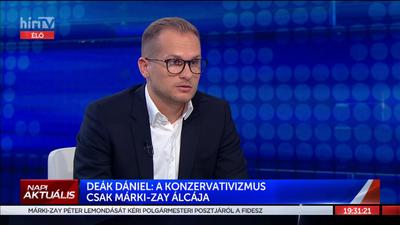 Deák Dániel: Nagyon sok olyan ködös dolog van Márki-Zay Péter múltjában, amit érdemes lesz felgöngyölíteni