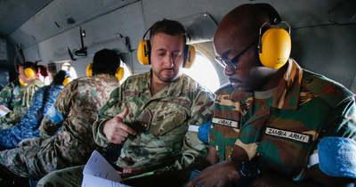 Katonai megfigyelők tréningeztek a szolnoki kiképző központban