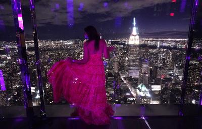 Élmény New York közepén, 420 méter magasan - lélegzetelállító fotógaléria