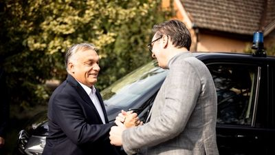 Orbán Viktor Szerbiában is népszerű (+videó)
