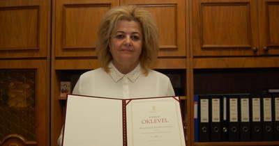Miniszteri elismerést kapott a félegyházi igazgató
