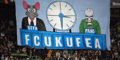 Az UEFA kemény üzenetet kapott a szurkolóktól a Celtic-Fradi-meccsen - képek