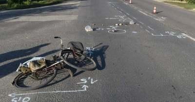 Nem adott elsőbbséget a biciklis, összeütközött egy autóval Kunhegyesen