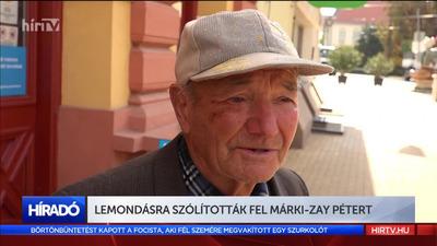 Lemondásra szólították fel Márki-Zay Pétert