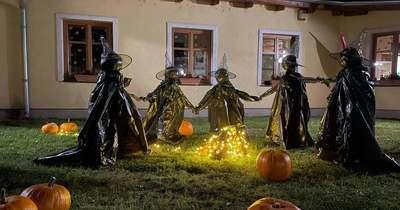 Ijesztően izgalmas berényi halloweeni udvar (videó)