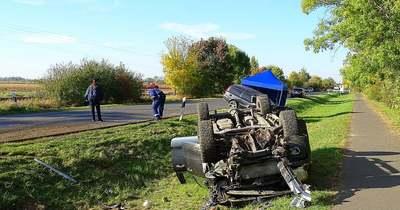 Halálos baleset történt a megyehatáron – Fotók